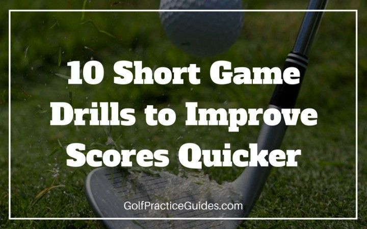 Short Game Drills for Beginners We all know that short game is where the scoring happens in golf, yet many golfers spend too much focus on their driver. Today, we want you to forget about your golf swing and just focus on your chipping and putting skills. By improving your short game, you will see your golf