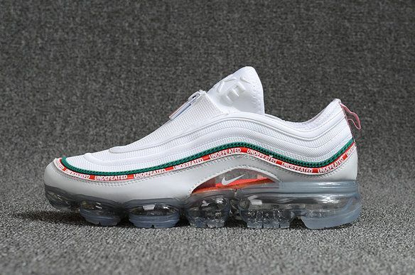 9653a732222 New 2018 Nike Air Max 97 VaporMax KPU Zipper UNDFTD White