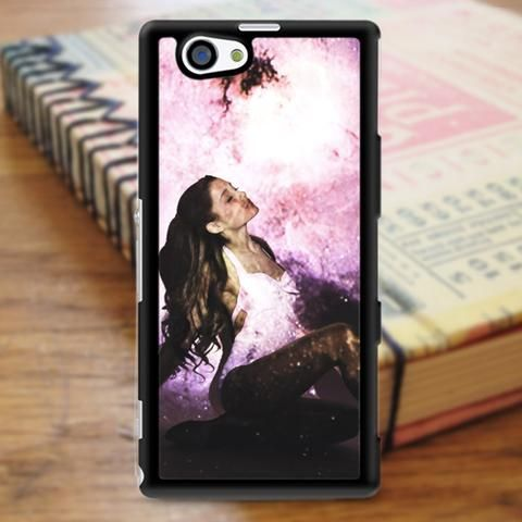 Ariana Grande Galaxy Photoshoot Sony Experia Z3 Case