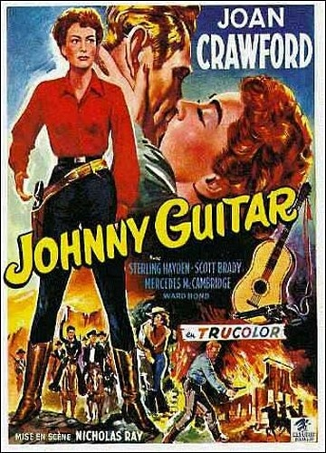 """""""JOHNNY GUITAR"""" (1954) directed by Nicholas Ray and Fred F. Sears. Interesting film..."""