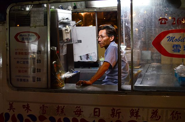 Ice cream car inside | Flickr - Photo Sharing!
