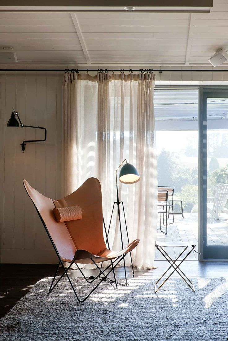 The Prize - A mint KS Chair (black steel version pictured here) Image from Polperro Winery in Victoria's Redhill. An amazing spot to relax designed by Melbourne based designers Hecker Guthrie and shot by the talented Shannon McGrath.