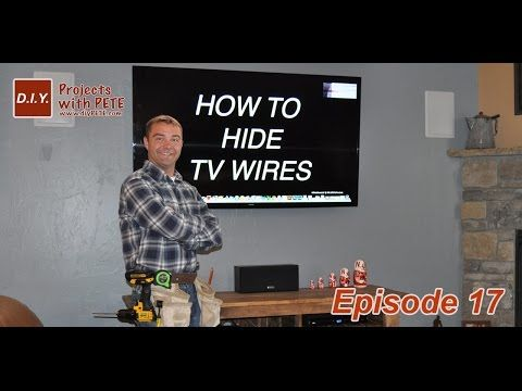 where do you put the cable bosx wheb hang tv on wall - Yahoo Search Results