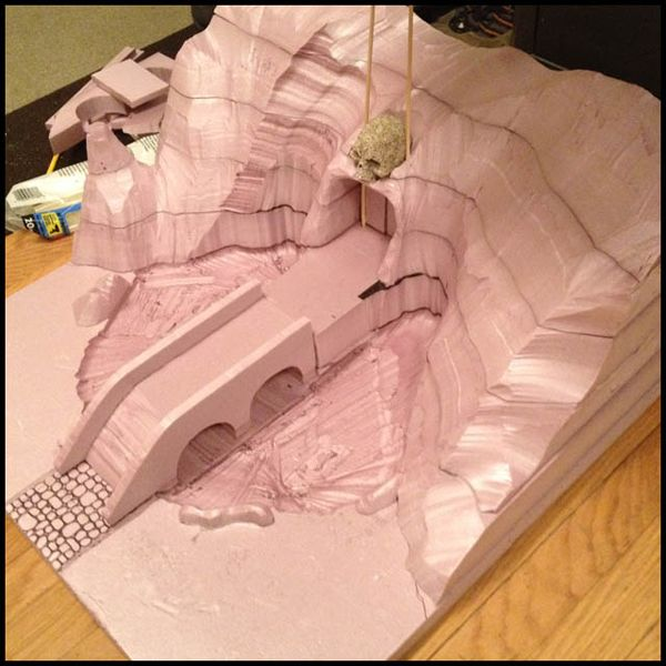 gaming terrain foam - Google Search