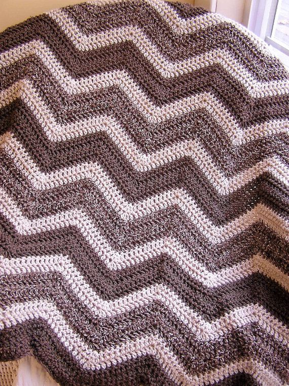chevron zig zag crochet baby toddler afghan by JDCrochetCreations, $75.00