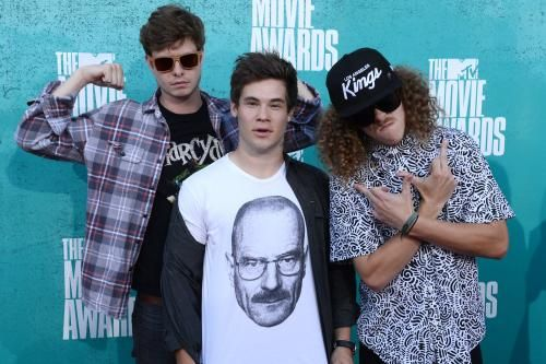 """Workaholics"" stars Adam DeVine, Anders Holm and Blake Anderson have teamed up once again in a teaser trailer for upcoming Netflix film,…"