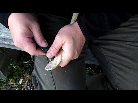 Pimp your victorinox pocket knife spoon carving tool - YouTube
