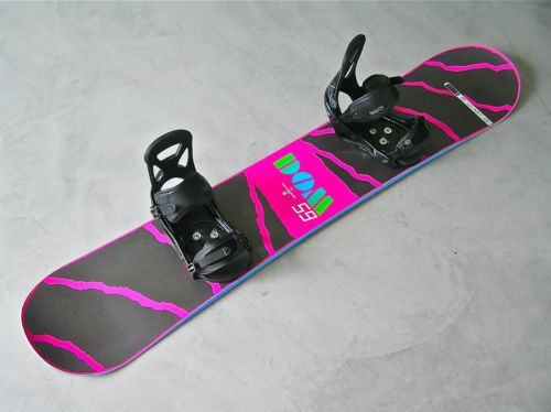 Dominant Burton Snowboard Mens 159 cm + BURTON BINDINGS (19)
