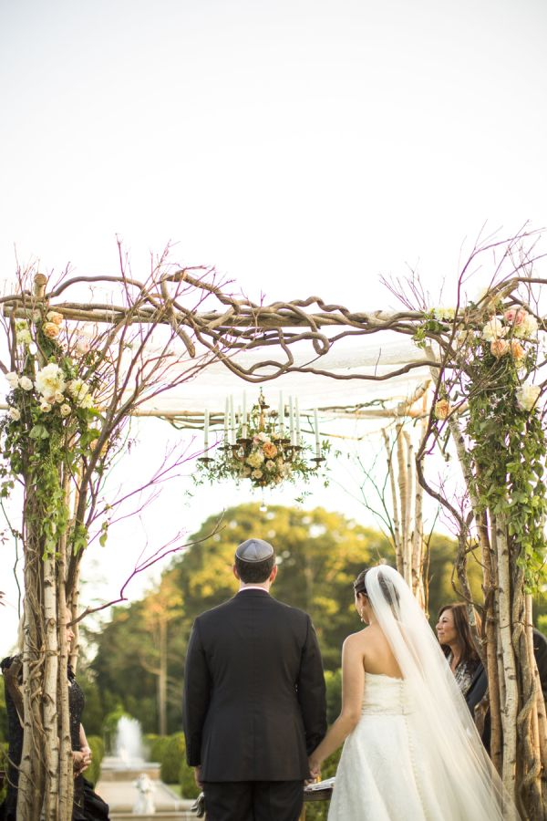 wedding chuppah with chandelier. Black Bedroom Furniture Sets. Home Design Ideas