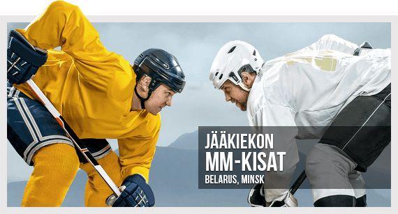 Voita huikeita palkintoja meidän jääkiekon MM-kisakampanjassa!   Lue lisää uutisosiostamme! #jääkiekonmm #jääkiekko #belarus2014 #minsk2014 #nhl #khl