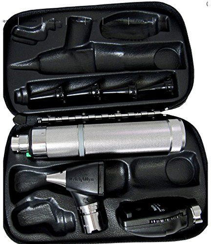 Welch allyn 3.5v Complete Diagnostic SetIncludes: - 11710 Standard Head - 25020 Diagnostic Otoscope - 3.5v C-Cell Handle (Batteries Included) - Hard Case - Original Welch allyn Sealed Green Box- Brand New