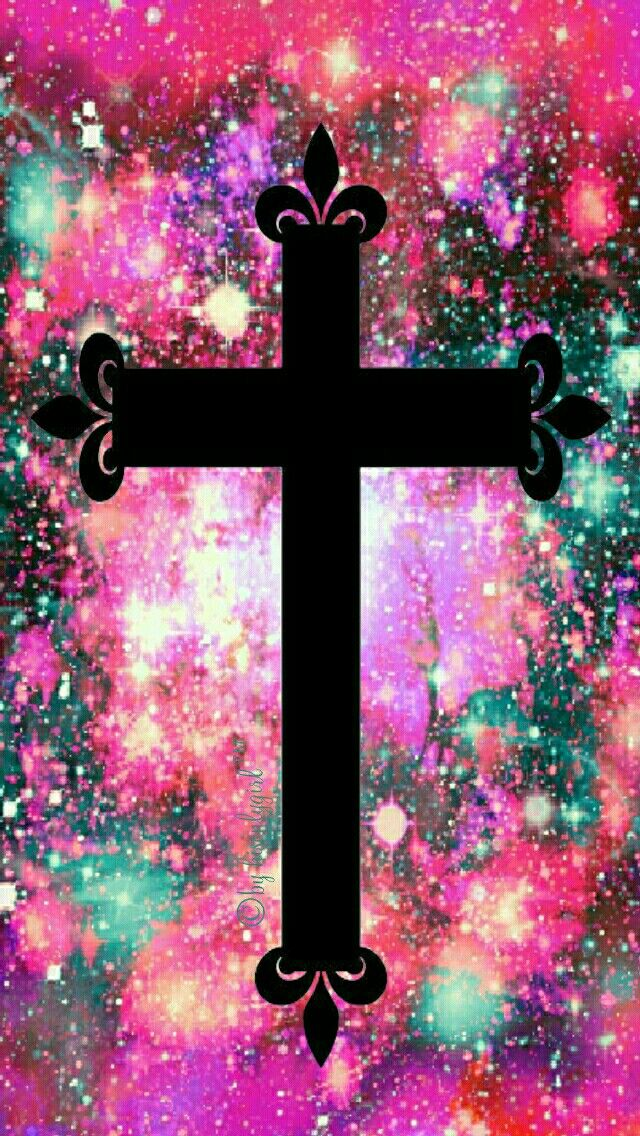 Cute Wallpapers Cocoppa Holiday Cross Galaxy Iphone Android Wallpaper I Created