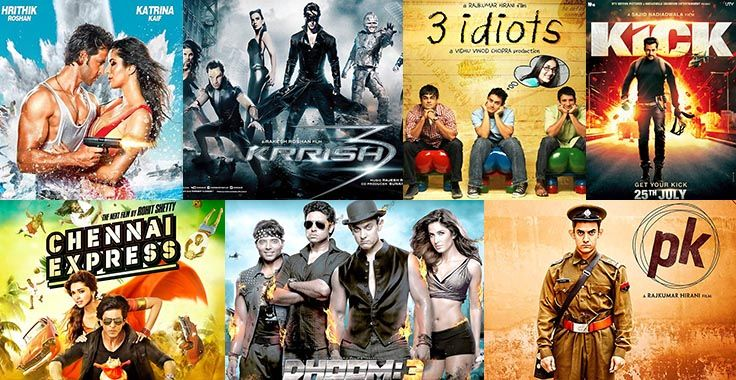 Top Ten Highest-Grossing Indian Films Here we have a list of Top Ten Highest-Grossing Indian Films as below: 1. PK PK breaks all the record and it is at number one in this list of top ten grossing India movies. This is a movie of Aamir Khan which produced under the banner of Vinod Chopra…