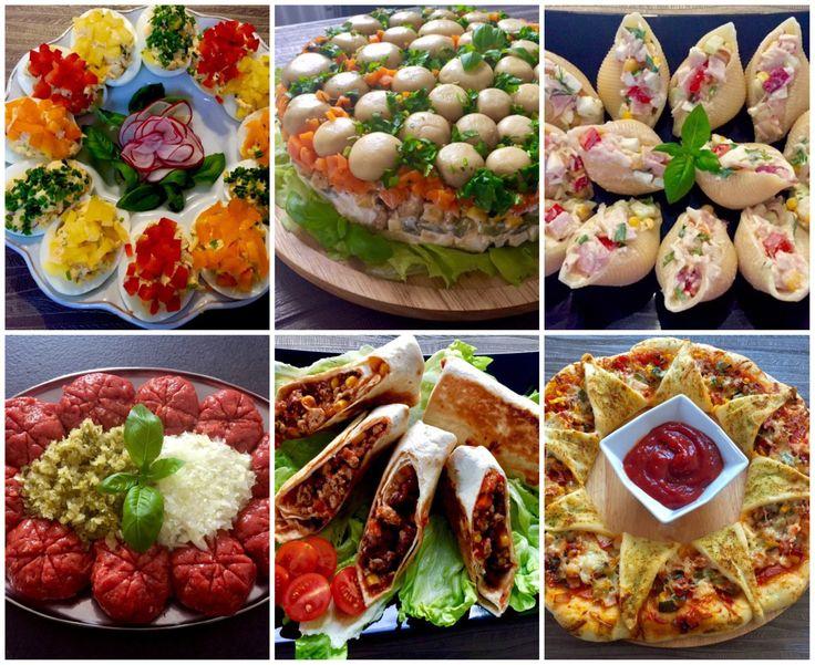 Imprezowe Hity!!! 30 pomysłów na przekąski, dania, sałatki i przystawki na przyjęcie :)) - Blog z apetytem