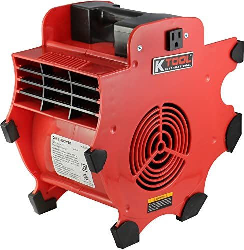 New K Tool International 3 Speed Adjustable Blower Air Mover Floor Carpet Dryer Utility Fan Power Outlets Work Site Blower Kti77702 Online Shopping Pre In 2020 Power Outlet Flooring Movers