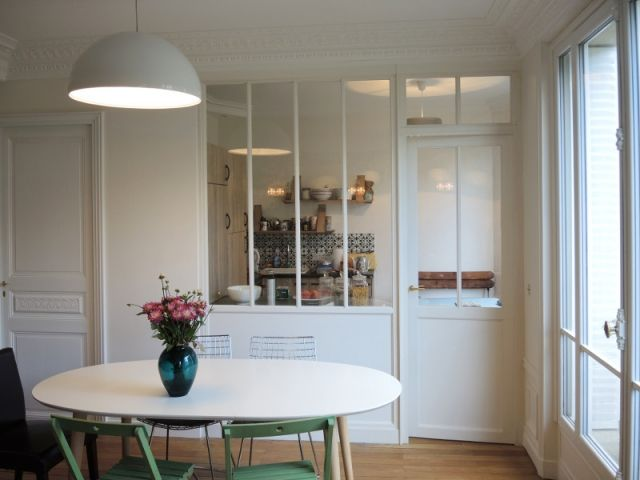 Les 25 meilleures id es de la cat gorie vue de la fen tre - Verriere interieure cuisine ...