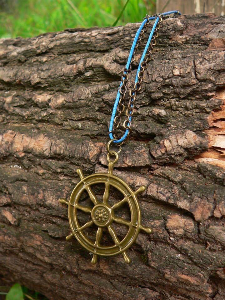 """Necklace """"Umi Kei Lady"""" Sea"""