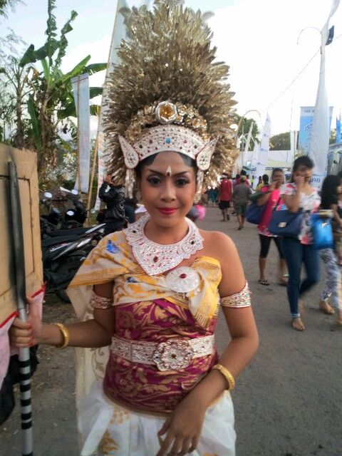 Traditional Balinnese Dress. .Love Indonesia