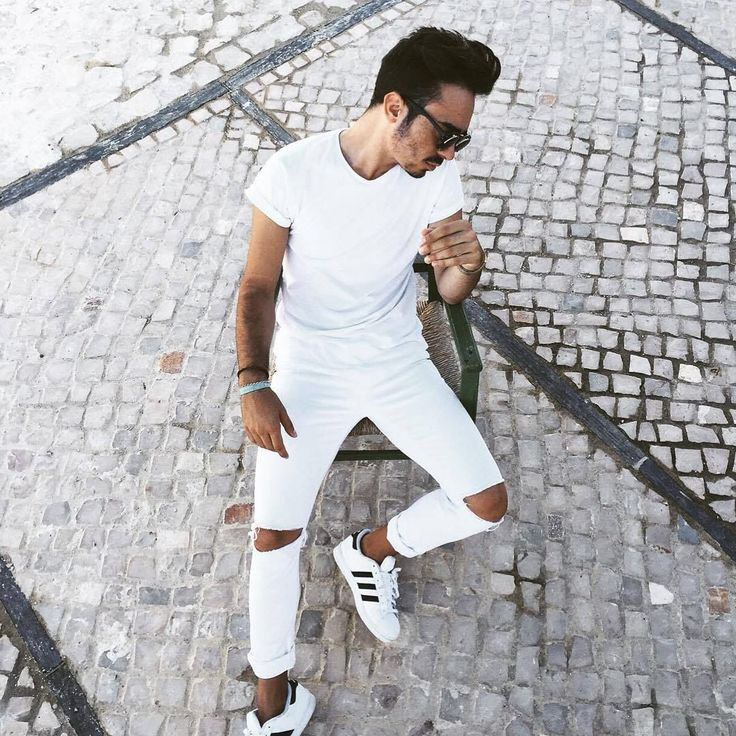 Today I choose white #man #adidas #superstar #white #outfit #ootd #guy #ripped #jeans #sunglasses Get a $100 Adidas Gift Card!  Adidas, Adidas Sneakers, Adidas Outlet, Adidas Nmd, Adidas Shoes, Adidas Apparel, Adidas Boost, Adidas Boost Shoes, Adidas Clothing, Adidas Dress, Adidas Essentials, Adidas Kids, Adidas Leggings, Adidas Nmd Runner, Adidas Quality, Adidas Superstar, Adidas Store, Adidas Vs Nike, Adidas Zipper, Adidas Zappos, Adidas, Adidas Sneakers, Adidas Outlet, Adidas Nmd, Adidas…