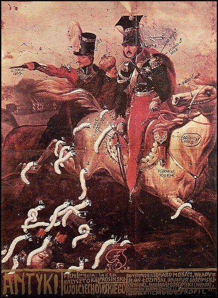 Franciszek Starowieyski 'Antyki/Antiques' - Polish Poster, 1978