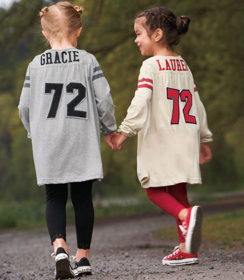 Personalized Football Jersey Dress...Adorable!!