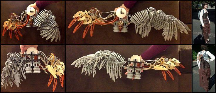 bionicle wearable wings by kayru kitsune on deviantart stuff to buy pinterest wings art. Black Bedroom Furniture Sets. Home Design Ideas