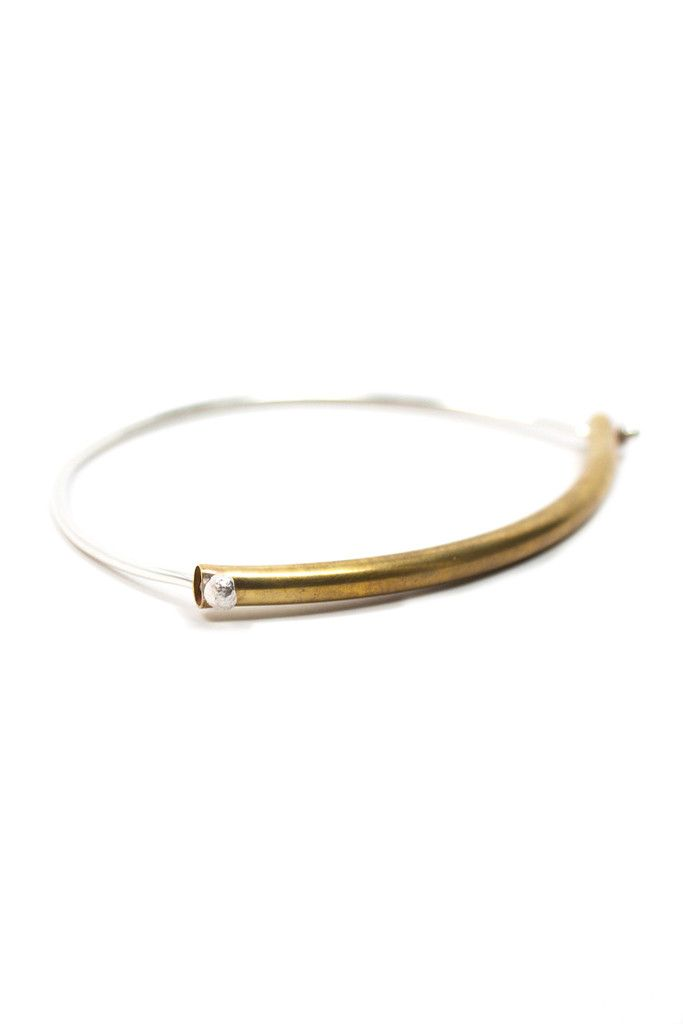 The Londey Bangle is so easy to dress up or down. www.mooreaseal.com