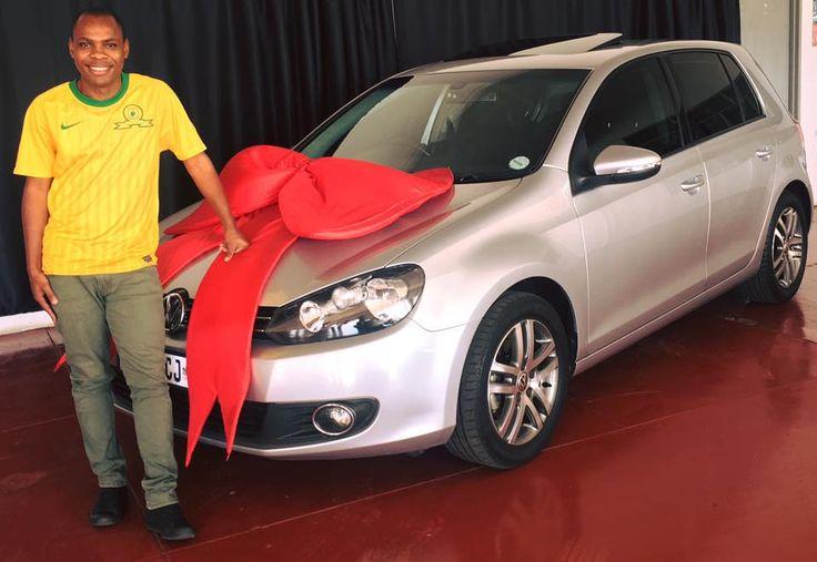 Mr Tongwane & his VW Golf 6 TSI #AnotherSuccessfulDelivery #Finance #TheMotorManWay #TheMotormanEffect #motorman #cars #nigel #vw #golf