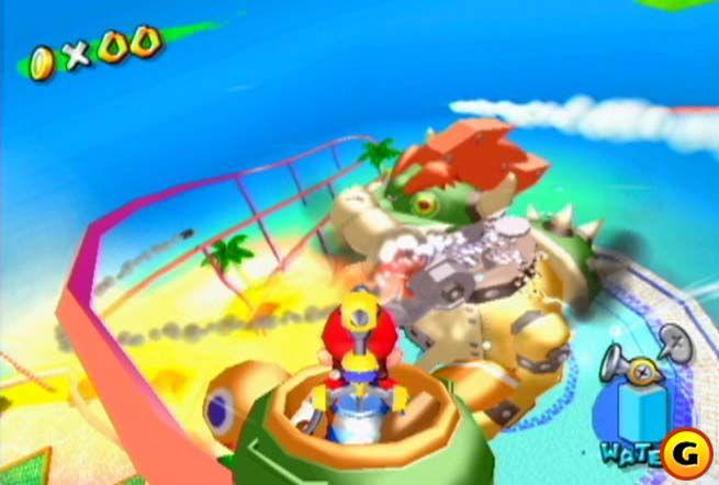 SuperPhillip Central: Super Mario Sunshine (GCN) Retro Review