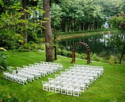 Green Wedding The My Boyfriend Is Making Me Wait For Pinterest Outdoor Reception And Bridal
