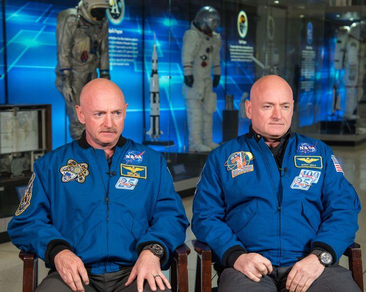Scott and Mark Kelly
