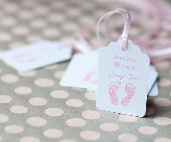 Another 2 Feet Coming Soon  Baby Tags Baby by TheOrangeSparrow