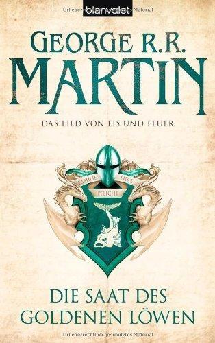 Die Saat des goldenen Löwen von George R. R. Martin Andreas Helweg, BookLikes.com #books