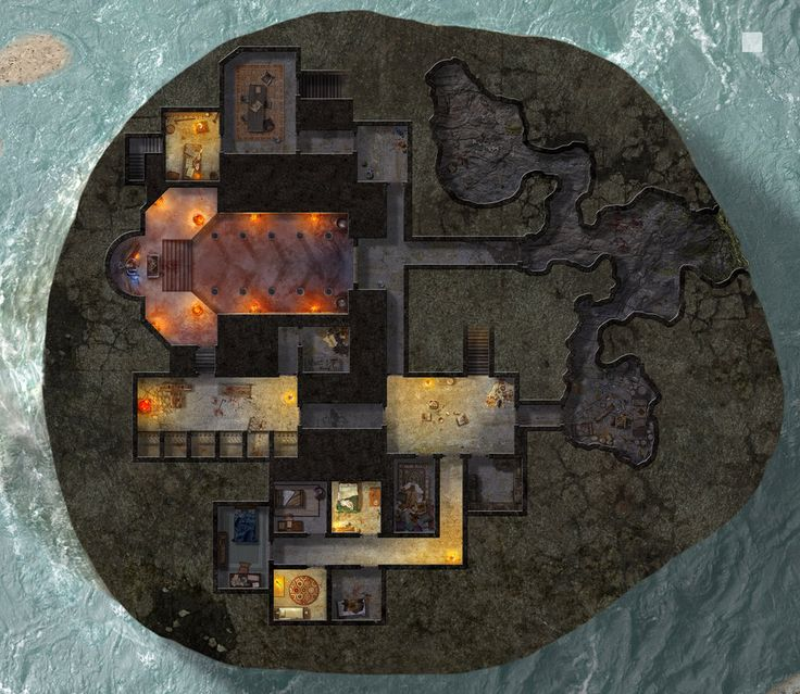 262 best images about maps roll20 on pinterest 2nd floor for Floor 2 dungeon map