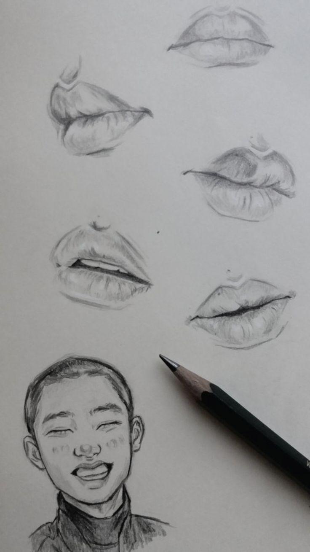 D O Drawings Art Lips Sketch Nose Drawing Lips Drawing