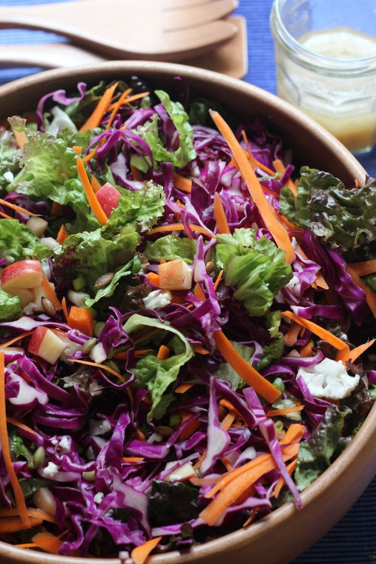 You've bought your turkey and picked your stuffing recipe. Pies are in the works and the potatoes are waiting to be scrubbed. What's left? ...Salad! This is perhaps the one dish of the whole Thanksgiving feast that doesn't come laden with tradition, so let's have fun with it! This year, we're bringing some color to the table. From this vibrant red cabbage salad to a warm millet salad studded with oranges, we have ten ideas for salads that pop.