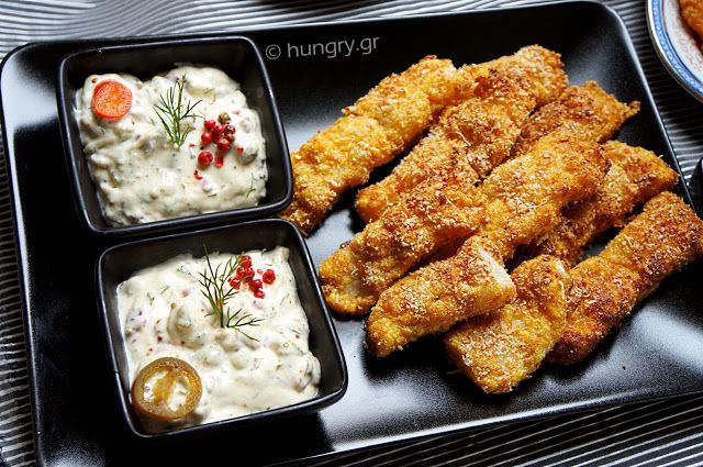 Kitchen Stories: Homemade Fish Sticks & Tartar Sauce