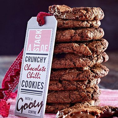 Double Choc-Chip Chilli Cookies recipe - From Lakeland
