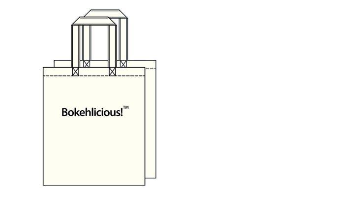 Image of Bokehlicious? Tote Bag, Bokehlicious?, Tote Bag, tote, bag, bokeh…