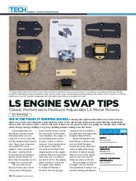 "I saw this in ""LS Engine Swap Tips"" in Classic Trucks August 2014."