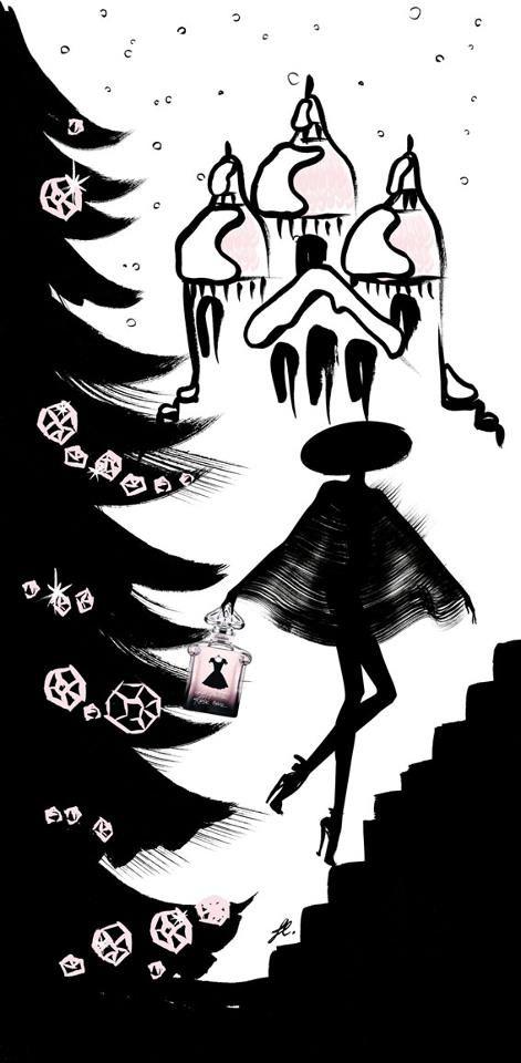 Guerlain's La Petite Robe Noire