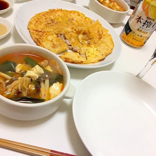 韓国料理だいすき!♡ - 20件のもぐもぐ - スンドゥブandキムチーズチヂミ♡ by 0rm00207726460k