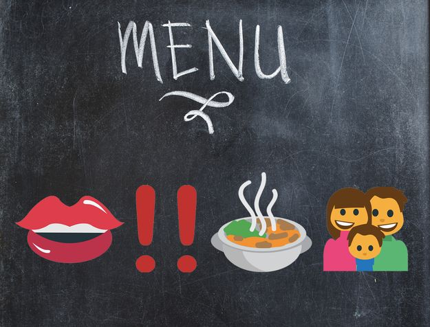 And, finally, every foodie's new life mantra: | 10 Emoji Phrases For Anyone Who's Obsessed With Food