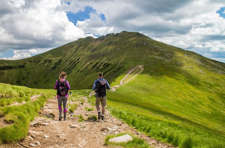 The most beautiful ridge hike in Slovakia. You can do it in the Low Tatras