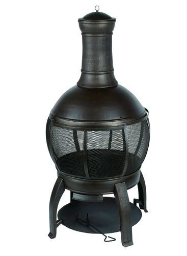 Steel Chiminea At Menards Sum Sum Summertime Pinterest Backyards Backyard Creations And Steel