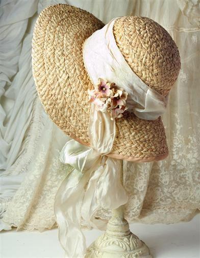 ENGLISH BONNET  I could write a sonnet about your Easter bonnet.