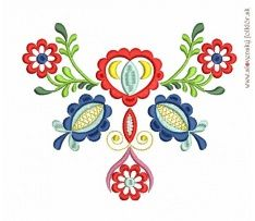Výšivka Vajnory, rozmer 17x14 cm