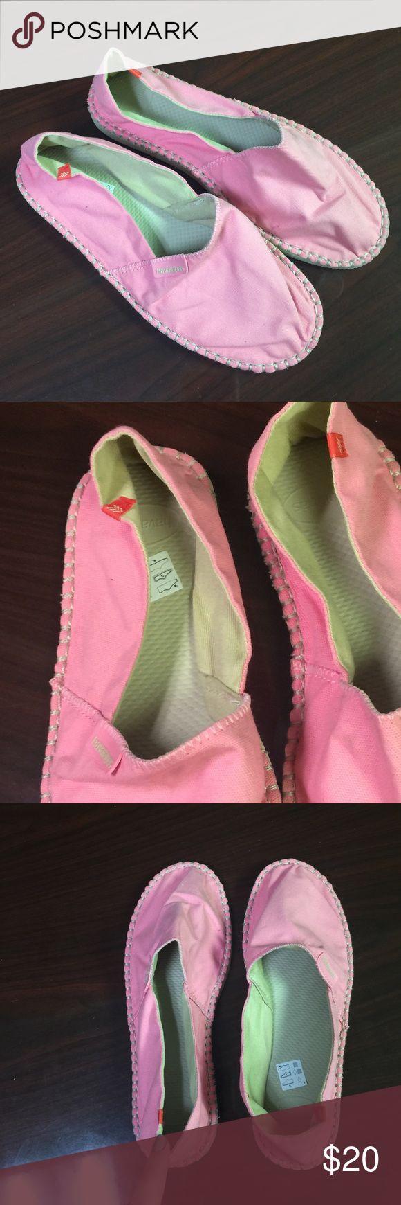 Havaianas Light Pink Espadrilles Size 39 Brand New/Never Worn Havaianas Shoes Espadrilles