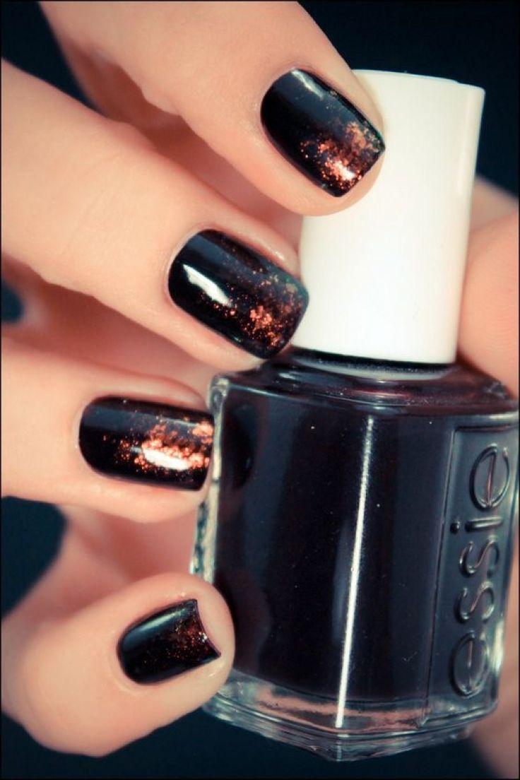 Les 25 meilleures id es concernant vernis ongles noir sur pinterest noir vernis ongles - Vernis a ongle noir ...