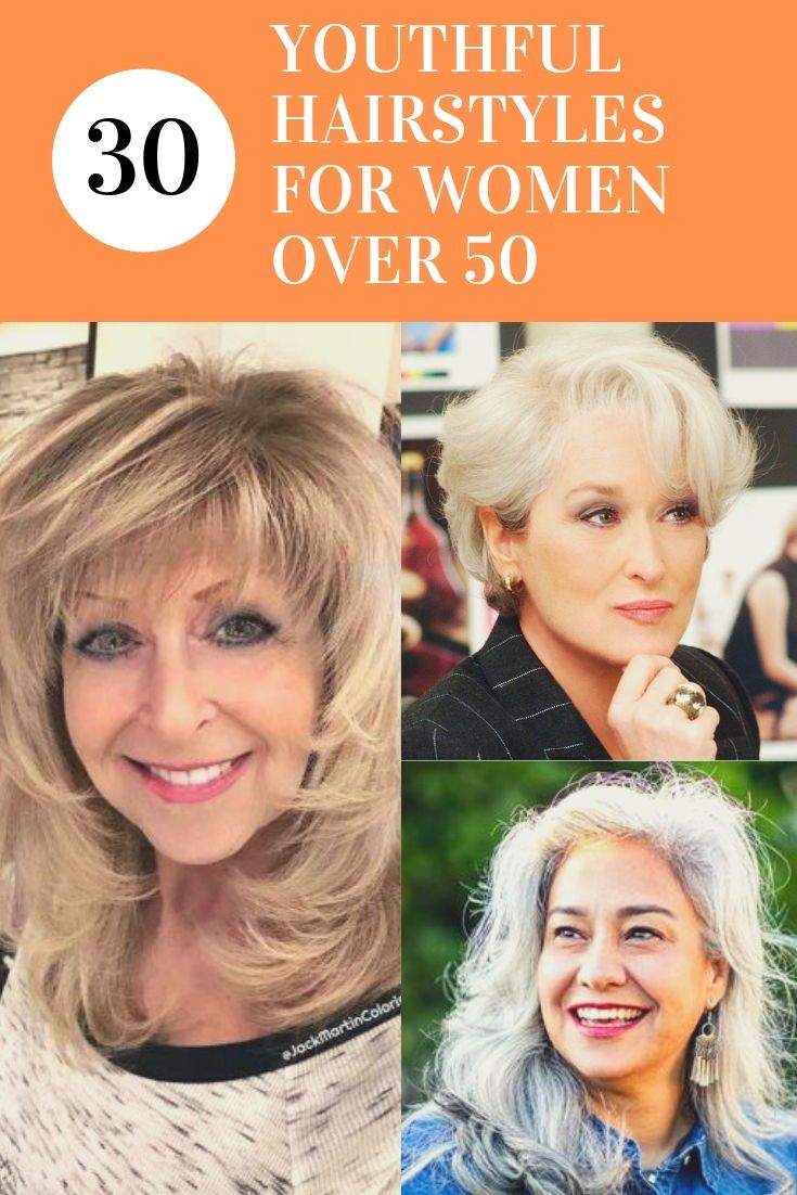 30 Best Youthful Hairstyles For Women Over 50 Best